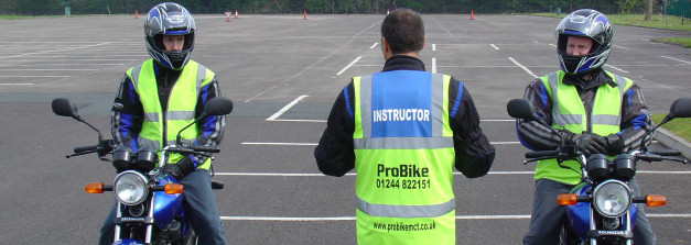ProBike 125cc Motorcycle Training Chester